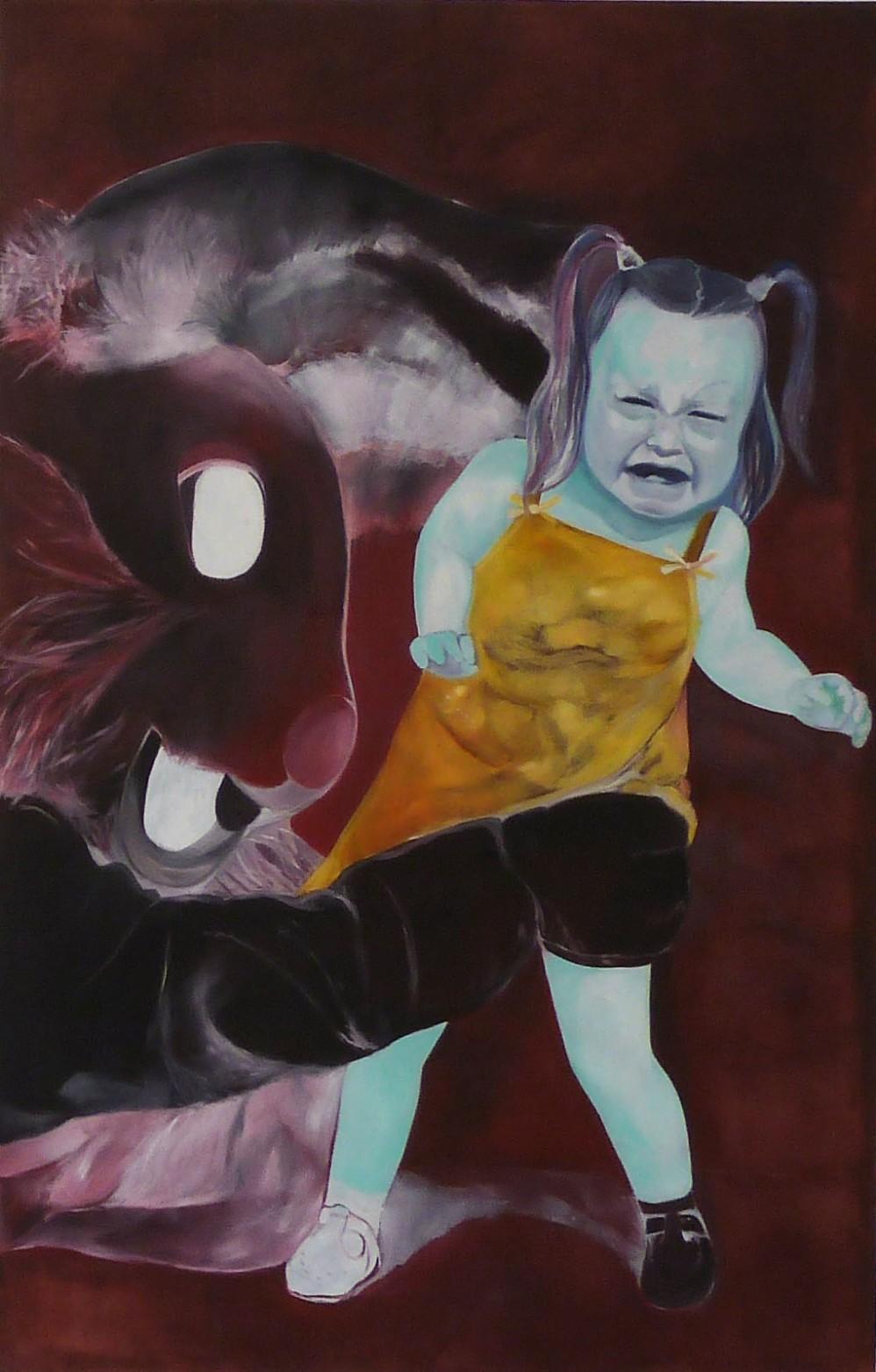 Lapin huile sur toile 230x150 cm 2013