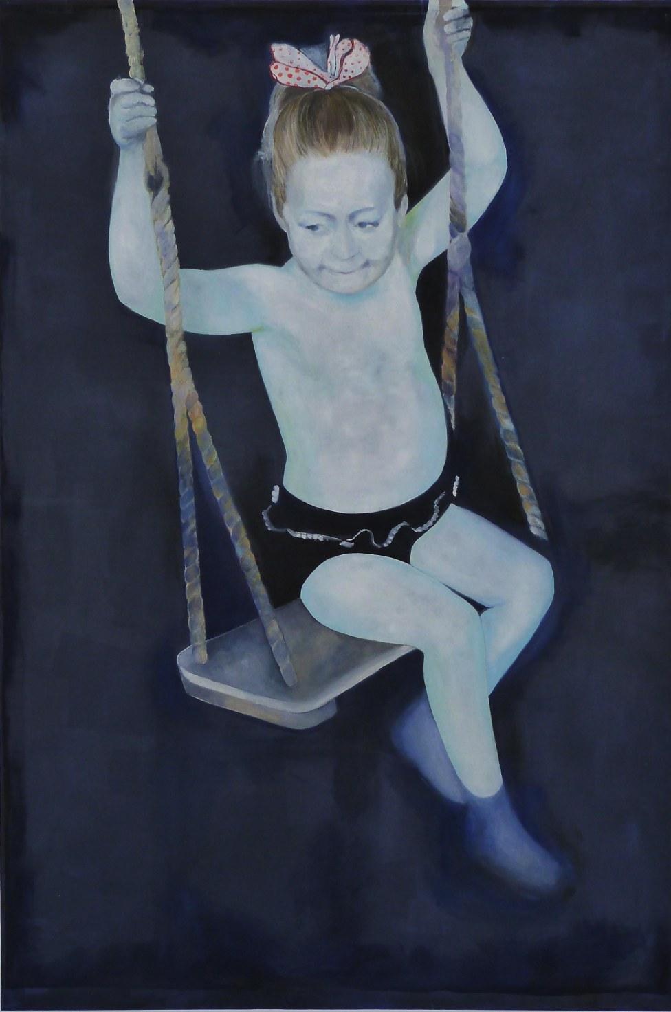 Swing huile sur toile 230x150 cm 2013